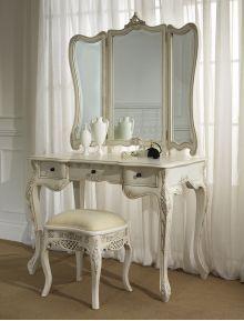 La Rochelle Antique French Dressing Table (Large) Set
