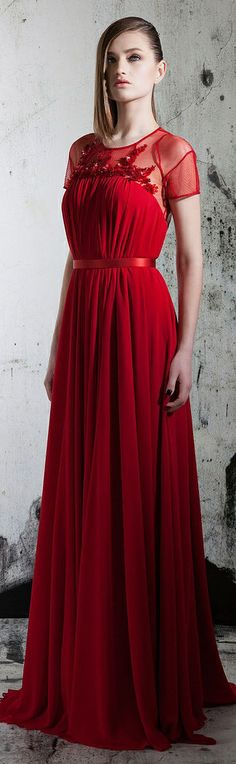 Basil Soda - red dress - 2014