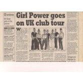 Nottingham Evening Post 1997. Girl Dj, Tour T Shirts, Nottingham, Dance Music, Girl Power, Slogan, Growing Up, Scene, Tours