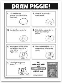 Elephant & Piggie activities