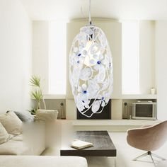 Pastoral Creative Aluminum Dining Room Pendant Lamp Bar Pendant Lamp Balcony Pendant Lamp