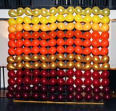 Balloon wall | Bar Bat Mitzvah Decorations - Balloon Decorations ...