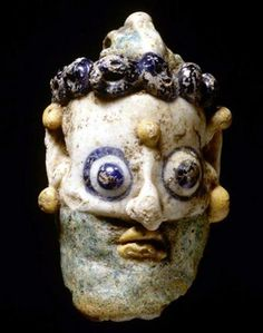5th - 4th century B.C.; h. 3 cm.; originally from the Easter Mediterranean Sea Region or Carthago