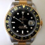 Men's Two-Tone ROLEX GMT Yachtmaster Chrono Watch from America's Gold & Diamond Exchange. $6,250