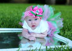 Pink+John+Deere+Hair+Bow+by+TutuFairy+on+Etsy,+$8.50