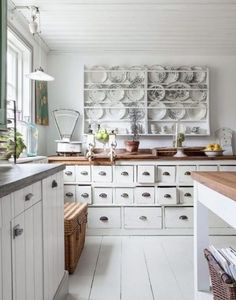 old apothecary cabinet in the kitchen