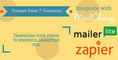 Download Contact Form 7 Connector (MailChimp, MailerLite and Zapier) Nulled Latest Version