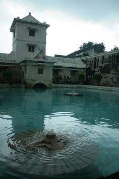 Tamansari, a beautiful water castle located in the west of Jogjakarta Palace, Indonesia.