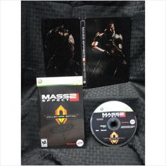 Mass Effect 2 - Steelbook Case, Manual, & Bonus Disc - NO GAME - Xbox 360 on eBid United States