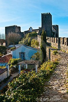 Obidos / Portugal - the village that was a wedding gift to each queen from the king for 600 years.