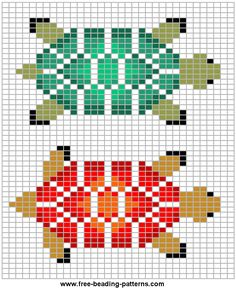 beading pattern could be stitched