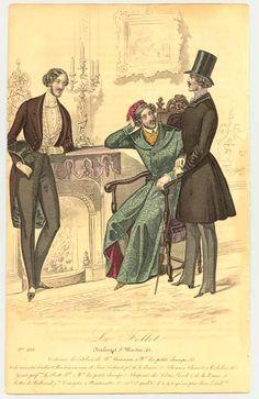 Le Follet | Men's Dressing Gown | 1839-40