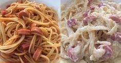 Spaghetti bolognaise & Fettucini carbonara 🍝 #homemade #byme  Yummery - best recipes. Follow Us! #foodporn