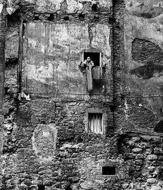 No future, Barrio de Santa Caterina, Barcelona, 1964 - by Eugeni Forcano (1926), Spanish