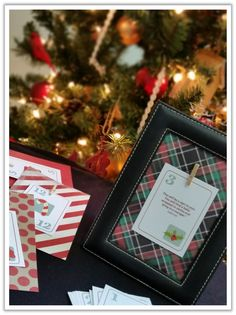Neighborhood Cafe free download Christmas Open House Invitation and Countdown Craft