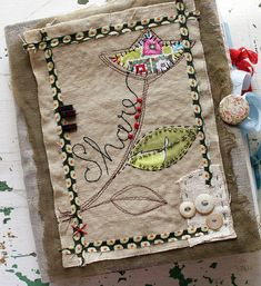 Art Quilt Journal (share) by Rebecca Sower, via Flickr