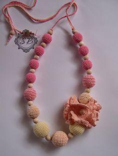 Nursing Necklace with the Flower Nursing by ViktorijaCraft on Etsy