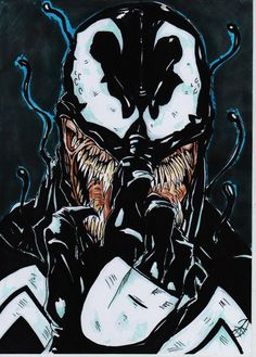 Venom - Marvel Comics - Symbiotic - Symbiote - Flash Thompson
