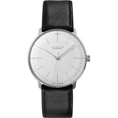 His work is characterized by a clarity of design and precise proportions which are unrivaled to this day, and in 1962, Max Bill created mechanical wristwatches for Junghans. These impressive timepiece