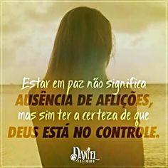 Confiar em Deus!