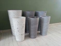 Flower Pots, Concrete, Planter Pots, Container Plants, Flower Planters, Cement