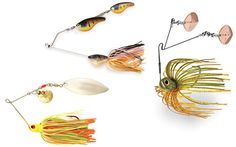 Spinnerbaits: Top Picks for Fishing Variety - In-Fisherman Bass Fishing Tips, Fishing Lures, Australian Bass, Bait Caster, Tennessee Valley Authority, Fish Varieties, Spinner Bait, Bass Lures, Lure Making