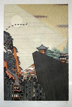 MORIMURA Ray 1998 Yamadera Tengu Iwa IMG_5069 by JennWarburt, via Flickr
