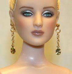 """Splendor"" GP Earrings for Tonner Tyler Cami Ellowyne DeeAnna AM Gene Sybarite"