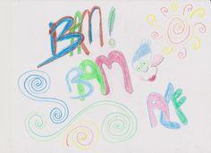 ( BAM BAM .. ) Graffiti ART -------- Drawn by Amanda F