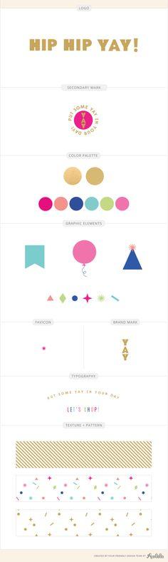 A Fun Logo for a Party Shop: Hip Hip Yay http://aeolidia.com/logo-for-a-party-shop/?utm_campaign=coschedule&utm_source=pinterest&utm_medium=Aeolidia&utm_content=A%20Fun%20Logo%20for%20a%20Party%20Shop%3A%20Hip%20Hip%20Yay