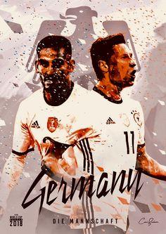 Germany : Die Mannschaft = The Team! Fifa Football, Football Memes, World Football, Football Posters, Football Art, World Cup 2018 Teams, Fifa World Cup, Albert Camus, Mens World Cup