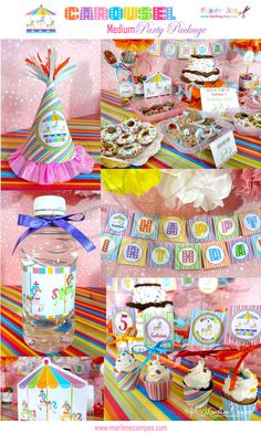 carousel birthday party - Google Search