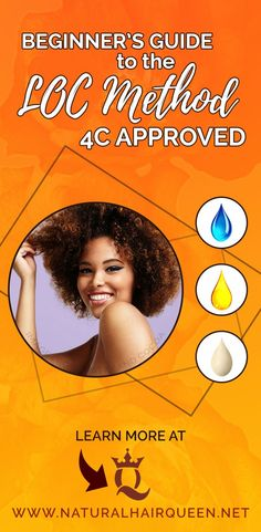 Use the LOC Method for Less Breakage and More Hair Growth Beginner's Guide to the LOC Method Appr Natural Styles, Natural Hair Types, Best Natural Hair Products, Natural Hair Regimen, Natural Hair Care Tips, Long Natural Hair, Natural Hair Growth, Natural Haircare, Natural Curls