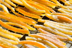 candied orange peels recipe | use real butter