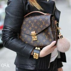 Louis Vuitton Pochette Metis. I want this LV bag. It's perfect & small.