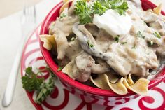 Recipe:+Slow+Cooker+Beef+Stroganoff
