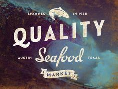Quality Seafood logo | Flickr - Photo Sharing!