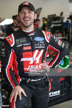 Daniel Suarez, driver of the Haas Automation Ford, stands in the garage area during practice for the Monster Energy NASCAR Cup Series Advance Auto Parts Clash at Daytona International Speedway on. Get premium, high resolution news photos at Getty Images Daniel Suarez Nascar, Monster Energy Nascar, Daytona International Speedway, Universe, Ford, Racing, News, Running, Auto Racing