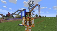 Orphea2012 Youtube et Minecraft: Capture d'écran faite pendant le tournage de la vi...