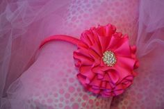 Fantastic Screen Ribbon Rose headband Style Buttercream bows flowers are a fairly easy means in making the tarts as well as desserts appearance Rose Headband, Flower Girl Headbands, Flower Petals, Flowers, Ribbon Rose, Headband Styles, Delphinium, Toe Nails, One Color
