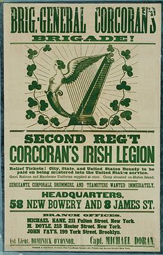 Irish Americans in New York   ... On Stereotyping Irish Soldiers'   Irish in the American Civil War