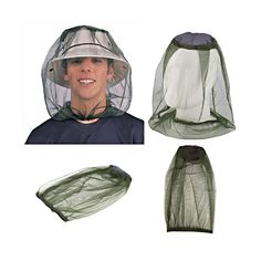 Outdoor Women Men Sunshade Anti-mosquito Bee Insect Camping Face Mask Net Mask Face Protect Cap Tool #Affiliate