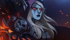 "meadowlarking: ""I still love her…. Warcraft Art, World Of Warcraft, Lady Sylvanas, Banshee Queen, Character Art, Character Design, Sylvanas Windrunner, Still Love Her, Dreamworks Animation"