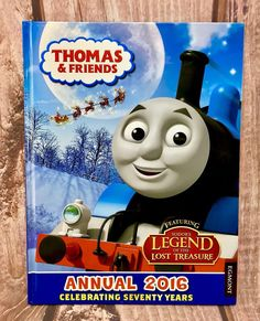 Thomas & Friends Annual: 2016 by Egmont UK Ltd (Hardback, for sale online Country Uk, Books 2016, Thomas And Friends, Book Title, Children, Kids, Lost, Baseball Cards, Amp