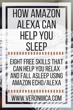 A successful college student with low vision shares 8 ways that she uses Alexa (Echo) to help her sleep. Alexa Dot, Alexa Echo, Alexa Tricks, Alexa Commands, Amazon Alexa Skills, Amazon Hacks, Amazon Echo Tips, Amazon Gadgets, Alexa Device