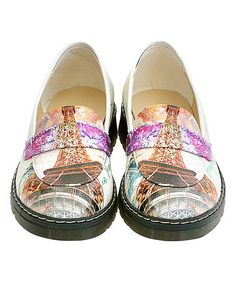ec8880f2dde Love this White   Purple  Paris  Loafer on