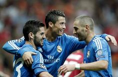 Isco, Ronaldo, Benzema