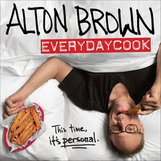 My name is Alton Brown, and I wrote this book. It's my first in a few years because I've been a little busy with TV stuff and interwebs stuff and live stage show stuff. Sure, I've been cooking, but it's been mostly to feed myself and people in my immediate vicinity—which is really what a cook is supposed to do, right? Well, one day I was sitting around trying to organize my recipes, and I realized that I should put them into a personal collection. One thing led to another, and here's…