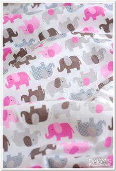 Stoff+Elephant+Baumwolle+rein+Kinderstoffe+von+DAISY'S+auf+DaWanda.com