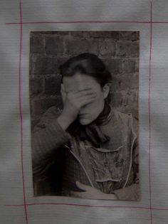 Anna Brown shields her face from the camera's gaze #The_City_of_Others:_Photographs_from_the_City_of_London_Asylum Archive | Bressey | 19: Interdisciplinary Studies in the Long Nineteenth Century